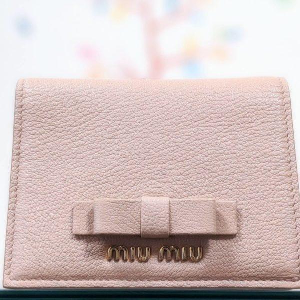 ミュウミュウのお財布をお買取りしました!!