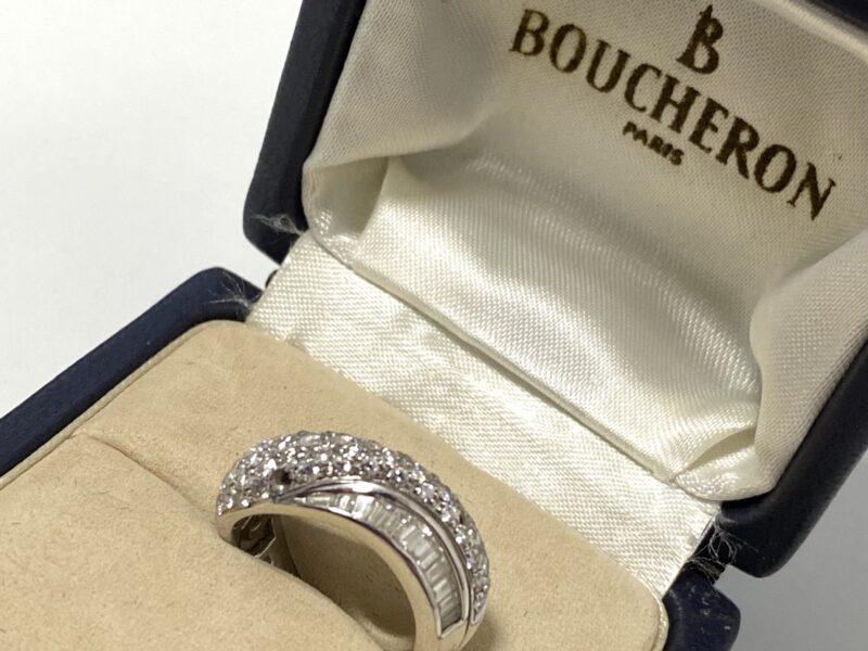 ブシュロンのダイヤモンドリングお買取りいたしました!