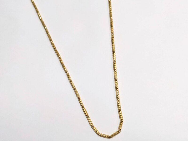 K18のネックレスをお買取りしました!!