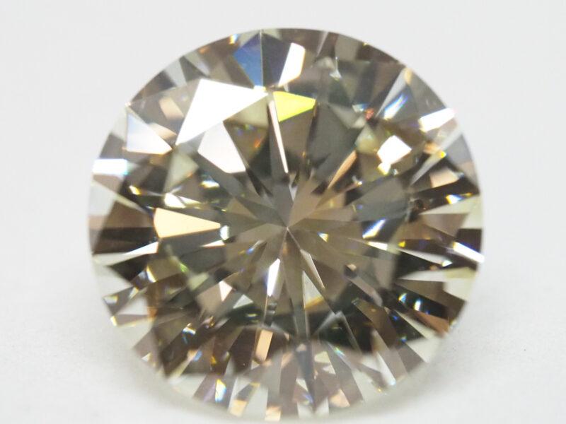 ヤフオクにてダイヤモンドルース 2.544ct/UNDER N(VLY)/VS-1/VERY GOODを出品しました!京都の質屋【質】フクユウ